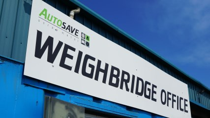 Scrap Metal Weighbridge Bury